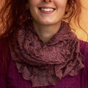 Silk-linen-loop-scarf