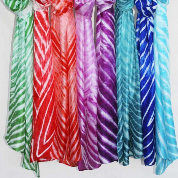 Tie-Dyed-Silk-Scarves