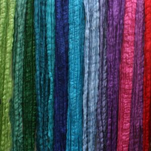 Assorted-Crinkled-Raw-Silks