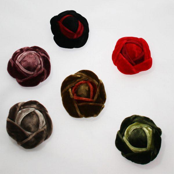 Velvet Rose Brooches