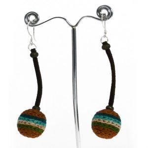 Crochet-Earrings-brown