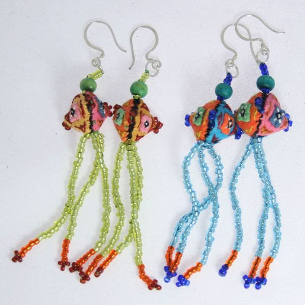 Hmong-Earrings-with-beading