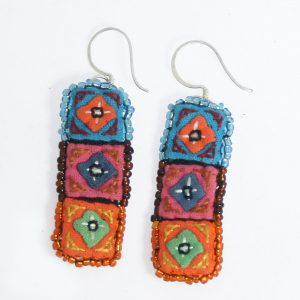 Applique earrings