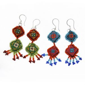 hmong earrings with tassels