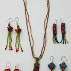 Hmong-Necklace-and- Earrings