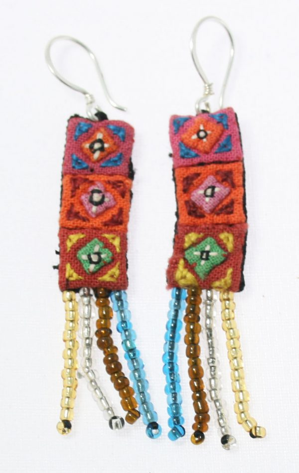 Hmong-Earring-with-Beading