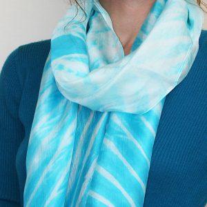 Tie-Dyed-Silk-Scarf