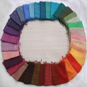 Raw silk colours