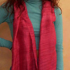 Red Raw Silk