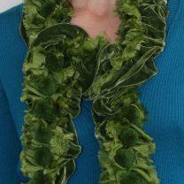 Velvet-scarf-with-small-pompoms