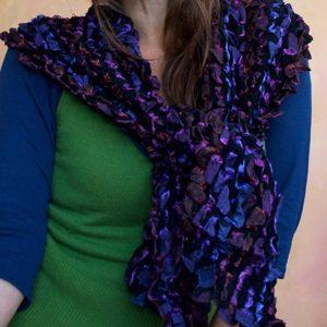 Scrunchy-Silk-Scarf-Purples