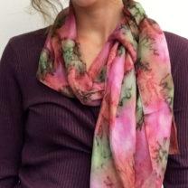 Hand-painted-silks-scarf