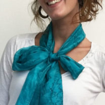 Hand-Painted-Silk-Scarves