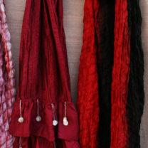 Red-stitched-silk-scarf