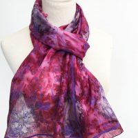 cats-on-plum-coloured-silk