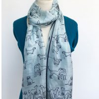 Pale-blue-silk-scarf-with-dogs