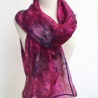 dogs-on-plum-coloured-silk