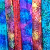 Hand-painted-silk-scarves-with-dogs